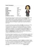 Sonia Sotomayer Biografía / Biography *Bilingual* Hispanic Heritage Month