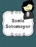 Sonia Sotomayor Writing Prompt and Research Sheet