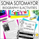 Sonia Sotomayor Biography & Reading Response Activities |