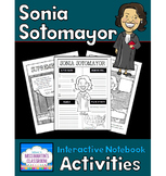 Sonia Sotomayor Biography Interactive Notebook Activities