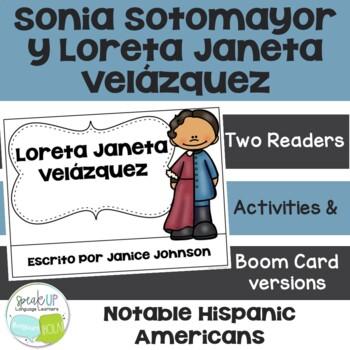 Sonia Sotomayor & Loreta Janeta Velázquez Readers {Spanish version}