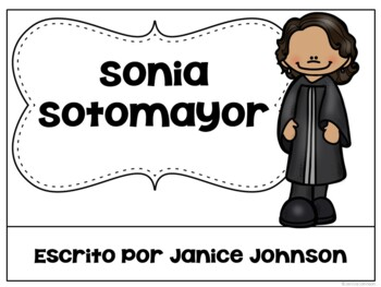 Sonia Sotomayor & Loreta Janeta Velázquez Readers {Spanish version}