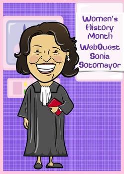 Sonia Sotomayor WebQuest