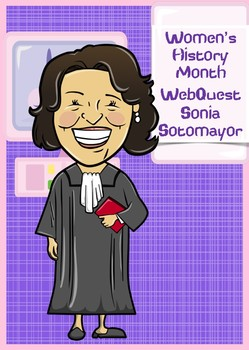 Sonia Sotomayor WebQuest