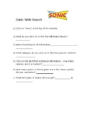 Sonic Web Search