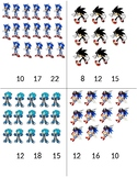 Sonic the Hedgehog Clip Cards #'s 1-20