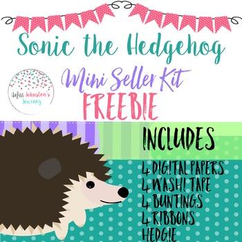 Sonic the Hedgehog Mini Seller Kit FREEBIE