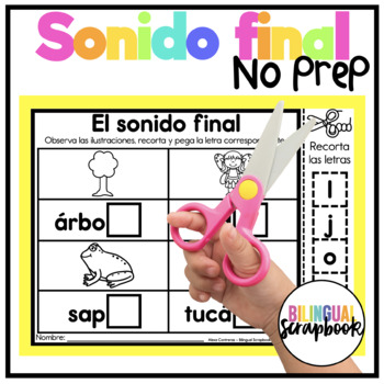 Sonido Final {Ending Sounds in Spanish}