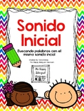 Sonido Inicial- Initial sound Spanish