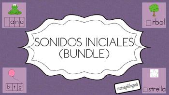Sonido Inicial (Bundle-Spanish) Initial Sound