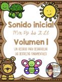 Sonido Inicial (MPSTL)- Beginning Sound in Spanish