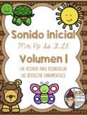 Sonido Inicial (MPSTL)- Beginning Sound in Spanish