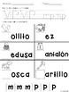 Sonido Inicial de consonantes Recurso gratuito en el preview