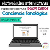 Sonido inicial. Beginning Sound Spanish. Distance Learning