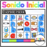 Sonido inicial - La primer letra (Beginning Sounds Centers in Spanish )