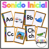 Sonido inicial - Rompecabezas (Beginning Sounds Centers in Spanish )