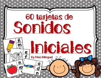 Sonidos Iniciales - Dual Language - Spanish