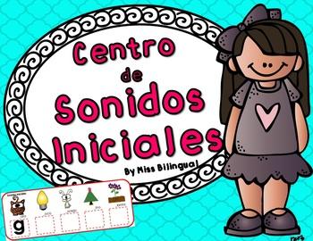 Sonidos Iniciales - Centro de Literatura / Initial Sounds Spanish Center