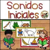 Sonidos Iniciales- Rompecabezas de sonidos iniciales en espaňol