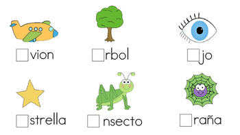 Sonido Inicial-Vocales- Initial sounds-vowels