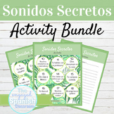 Sonidos Secretos Speaking Activity BUNDLE with Editable Templates
