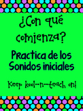 Sonidos inciales-Match the initial sound