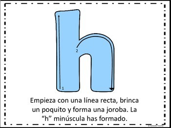 Sonidos iniciales - Beginning sounds in Spanish-( consonantes de H a M)