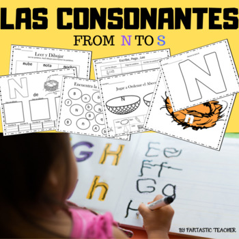 Sonidos iniciales - Beginning sounds in Spanish-( consonan