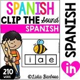 Spanish Alphabet- Clip the Sound