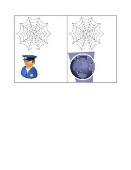 Sonidos iniciales Tema araña