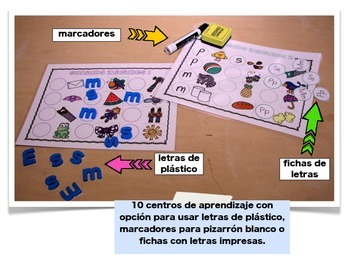 Sonidos iniciales para los más pequeños: 10 centros de aprendizaje