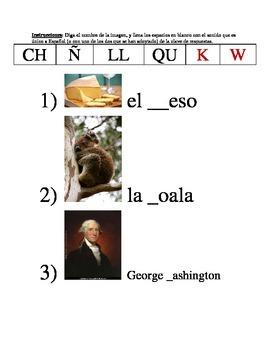 Sonidos que son únicos a Español