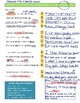 Sonnet 130 Graphic Organizer for Close Reading and KEY