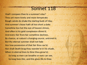 "Sonnet 18, ""Shall I compare thee"" - By William Shakespeare"