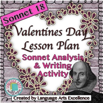Sonnet 18 Valentine's Day Lesson Plan