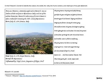 Sonnet Booklet and Prezi