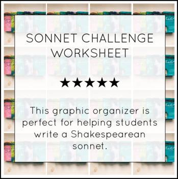 Sonnet Challenge Worksheet