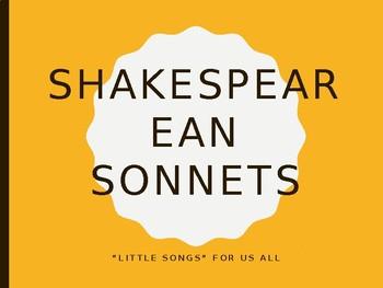 Sonnet Introduction