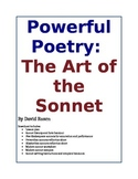 The Art of the Sonnet: Lessons and Activities