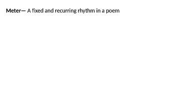 Sonnet Powerpoint