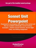 Sonnet Unit Powerpoint