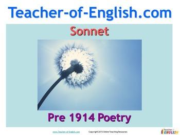 Sonnet by John Clare