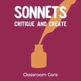 Sonnets: Critique & Create, Lesson Plan & Student Handouts
