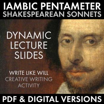 Shakespearean Sonnet, Shakespeare Sonnet Practice, Iambic Pentameter – CCSS