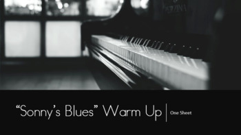 Sonny's Blues Warm Up Sheet (Comprehension Questions)
