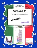 Italian Irregular Passato Prossimo (Sono Caduto) with This Rap-like Chant & MP3