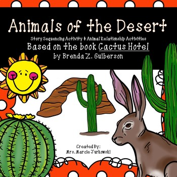 Desert Animal Diet Activities and Story Sequencing Based on Cactus Hotel
