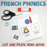 French phonics – Les sons français: Cut and Paste Mini-Book   French Sounds