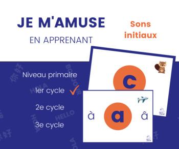 Sons initiaux en français - French beginning sounds Phonics A to Z