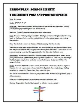 Sons of Liberty:  Liberty Pole